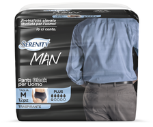 Serenity Man Pants Black Plus